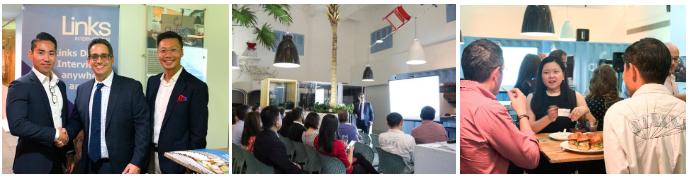 SG Fintech Event photos
