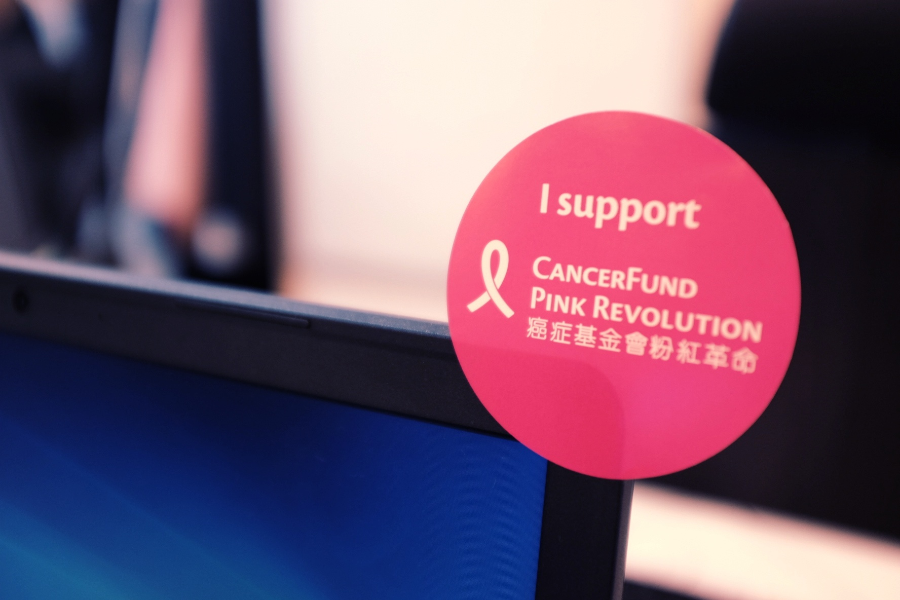 Links in Pink! Taking Part in Cancer Fund's Dress Pink Day